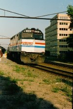 Amtrak 206, F-40PH, 1992