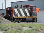 CN 1441 at the KGHM Wendover Bulk Transhipment Company