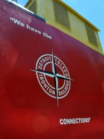 Ex-Erie Caboose, now painted and lettered for the DT&I.