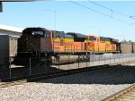 BNSF 9275 and 6054