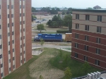 Great Lakes Central Rolls North As Seen From The Dorms At CMU