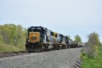 CSX 8506 Drag's a freight into Greenwich Ohio.