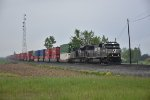 NS 7005 Drag's a stack up the Marion District.