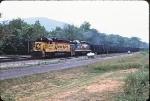 BO 3800 leads a coal train