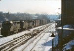 Westbound pulling into Martinsburg yard