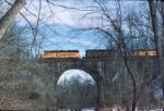 B&O 4324 crossing Waring Viaduct