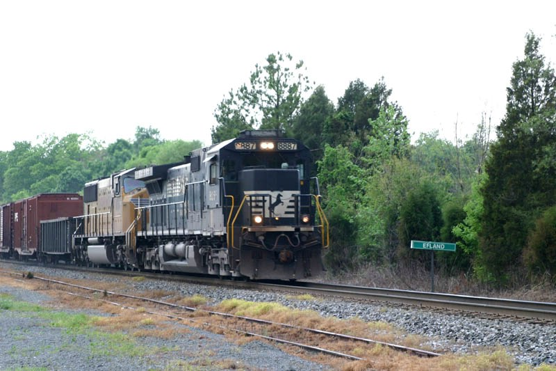 NS 8887 Is Glad Not To Take The Siding