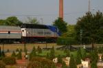 AMTK 1797 Passes The Garden Railroad