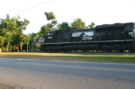NS 2688 Quickly Moves Through Town