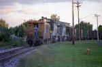 CNW Bayport coal train