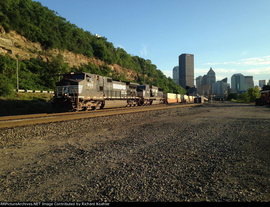 Exiting Pittsburgh at Sunset