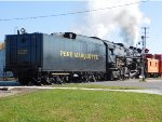 Pere Marquette 1225 Leads Tender Forward