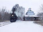 The Pere Marquette 1225 Dashing Through The Snow