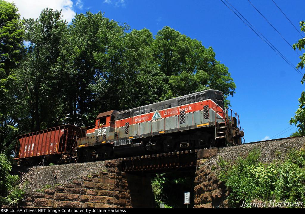 Housatonic Railroad Train NX-11 in Falls Village