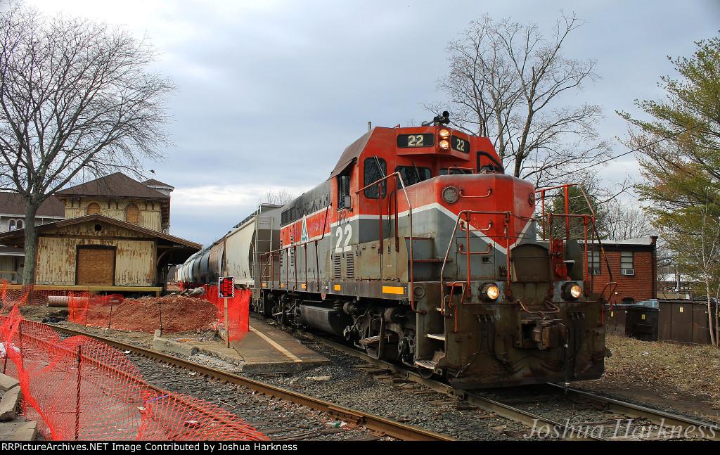 Housatonic Railroad NX-11 at Union Station