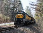 Housatonic Railroad Train NX-11 at River Road