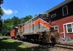 Housatonic Railroad Train NX-11 in West Cornwall