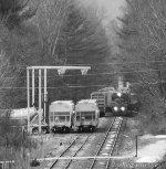 Housatonic Railroad NX-11 Working North Canaan