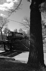 Housatonic Railroad NX-12 Over Taconic Avenue