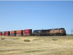 Southbound Stack Train holding at Erda