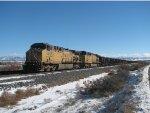West Elk Coal Train in the Siding