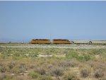 Ex-SP Commuter Locomotive at Burmester Utah