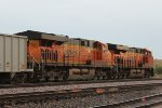 BNSF 7381 and 7155