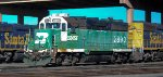 Burlington Northern, BNSF 2890, w/Nose Logo
