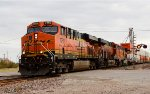 BNSF 7250 BNSF 8146 Highball on the BNSF Transcon