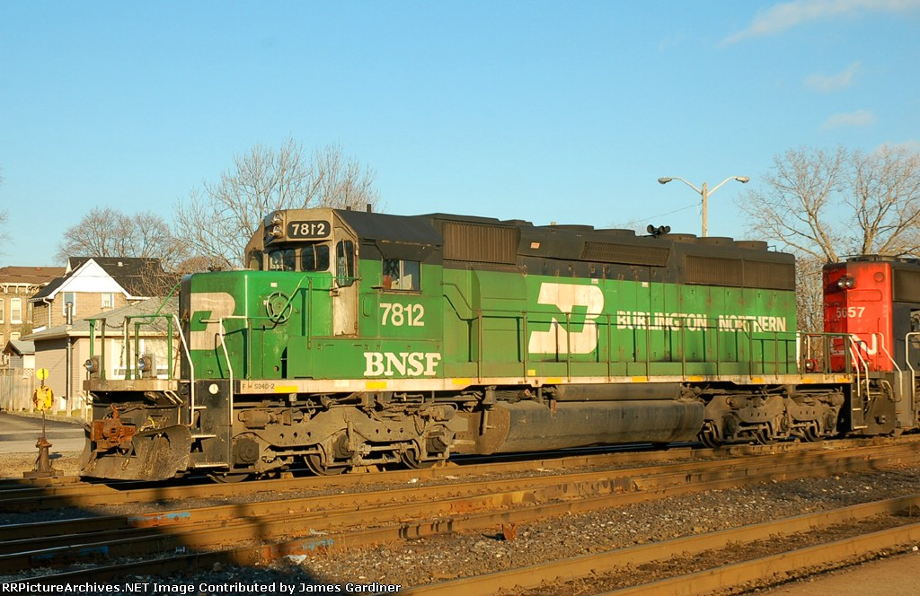 CN 398 in the Yard