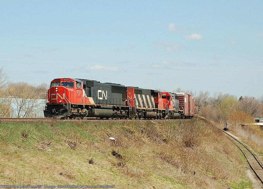 CN 399 by Simpson Jct