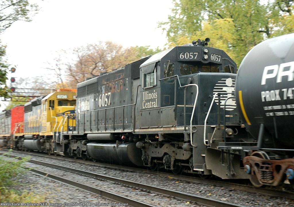 CN 399 arriving for a 30 car setout