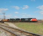 CN 398 by Simpson Jct