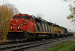 CN 399 arriving for a 30 car setout