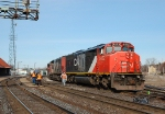 CN 398 Making a crew change