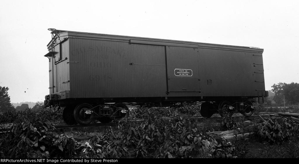 C&O Rwy. Boxcar # 6948
