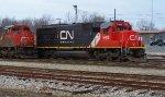 CN 5409 at Fulton, KY yard