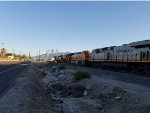BNSF 3783 passes me by as She heads north with A Citirail ES44AC as the #4 unit