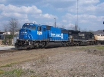 Former Conrail takes a local west away from Opelika