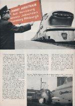 """""""Pennsy Aerotrain,"""" Page 6, 1956"""