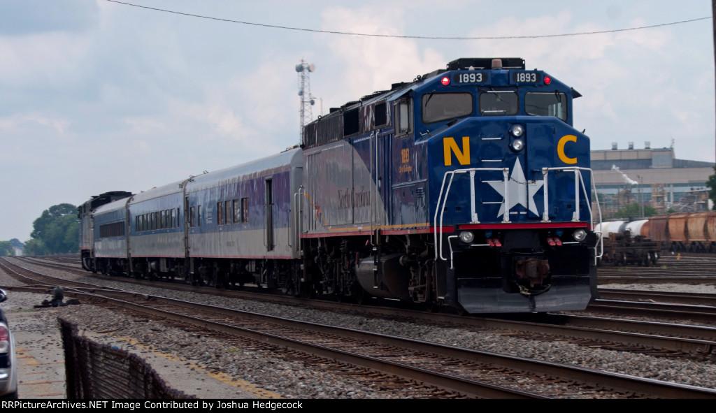 Amtrak 74 Piedmont RNCX 1893