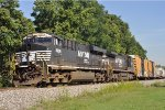 NS 8096 On NS 177 Eastbound