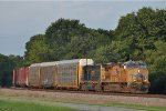 UP 7370 On CSX Q 241 Southbound