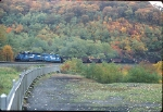 Westbound on Horseshoe Curve