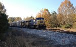 CSX C40-8W 7721 and UP SD70M 5118