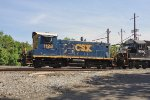 A blast from the RDG past:  CSX SW1001 1128 (RDG 2611)