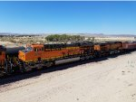 BNSF 3769 heads westbound as the #2 unit on a Coil Train.
