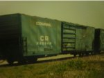 conrail 40 footer on the b&m