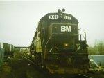 bm341 ex penn central paint