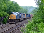 CSX 4829 and 4787 on Q437